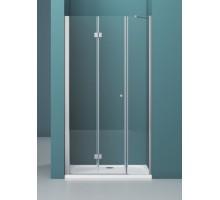 Душевая дверь ALBANO-BS-13-100+100-C-Cr 2000 хром, прозр. BELBAGNO