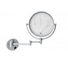 BRILLANTE Зеркало настенное с подсветкой двустороннее, с троекратным увеличением 505 BOHEME