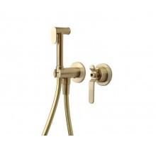 1760'S LOFT Гигиенический душ комплект матовое золото 3253CG Bronze de Luxe