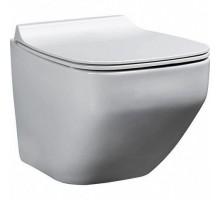 Alster Унитаз подвесной безободковый с сиденьем микролифт белый глянец 86303201 BEWASH