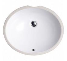 Balaton Раковина овальная врезная на столешницу  белый глянец 53,5*44,5 91531001 BEWASH