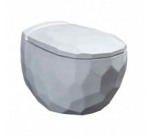 Bekinger Унитаз подвесной с сиденьем микролифт белый глянец 87303201 BEWASH