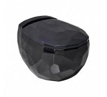 Bekinger Унитаз подвесной с сиденьем микролифт черный глянец 87303206 BEWASH
