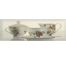 Decor Tea 03 Cream A 10*30 декор ABSOLUTE KERAMIKA
