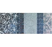 Batik Turchese Dec.B 24*59 декор IMPRONTA ITALGRANITI
