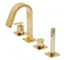 ALIMATHA CORNER смеситель для ванны врезной ML.ALC-5755 Do золото MIGLIORE