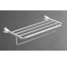 BIANCHI Полка для полотенец хром AM-E-2610-Cr ART&MAX