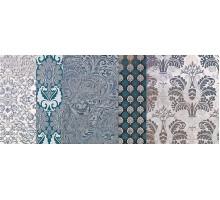 Batik Turchese Dec.C 24*59 декор IMPRONTA ITALGRANITI
