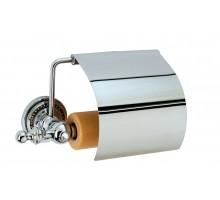 BRILLANTE Держатель для туалетной бумаги с крышкой 10430 BOHEME