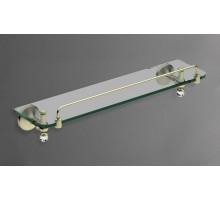 ANTIC CRYSTAL Полка стеклянная бронза AM-2682SJ-Br ART&MAX