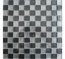 Мозаика 515 стекло/зеркало 300*300*4 KERAMOGRAD