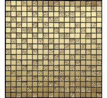 QM-1543 300*300 мозаика стекло+зеркало NATURAL