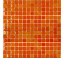 AA01 стекло оранжевый (сетка) 327*327 мозаика NS-MOSAIC