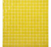 AA11 стекло желтый (сетка) 327*327 мозаика NS-MOSAIC