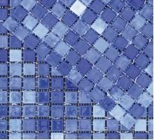 Acqua-1 Cobalto 316*316 мозаика стекло MOSAVIT