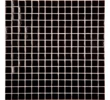 AK01 стекло черный (бумага) 327*327 мозаика NS-MOSAIC