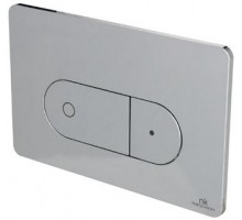 Smart Line Кнопка смыва двойная Oval белая N386000001 NOKEN