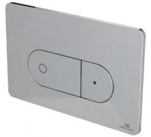 Smart Line Кнопка смыва двойная Oval хром N386000003 NOKEN