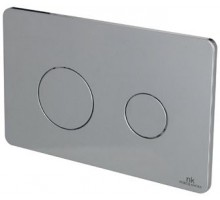 Smart Line Кнопка смыва двойная Rondo хром N386000006 NOKEN