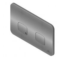 Smart Line Кнопка смыва двойная Nk Concept хром N386000060 NOKEN
