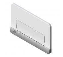 Smart Line Кнопка смыва двойная Forma белый/хром N386000061 NOKEN