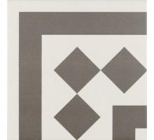 ANTIGUA GRIS 001 20*20 декор для напольной плитки RIBESALBES