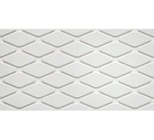 3D WHITE WALL White Rhombus Matt 30,5*56 плитка настенная ATLAS CONCORDE