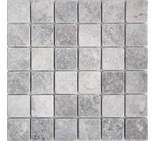 VLg Tumbled 48*48 мозаика из мрамора 300*300 Starmosaic