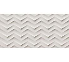 3D WHITE WALL White Chev Matt 30,5*56 плитка настенная ATLAS CONCORDE