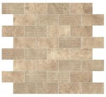 Aix Beige Minibrick Tumbled 30.5*30.5 мозаика ATLAS CONCORDE ITALY