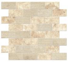 Aix Blanc Minibrick Tumbled 30.5*30.5 мозаика ATLAS CONCORDE ITALY