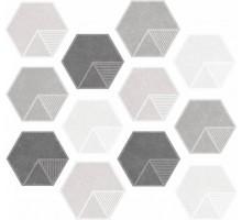 ATILA Matt Hexa 23.2*26.7 керамогранит ITT CERAMIC