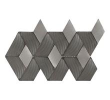 Gravity Aluminium BRAID METAL TITANIUM 35.8*23.7 мозаика металл L'ANTIC COLONIAL