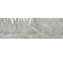 1217 Grey Relieve Wave 40*120 плитка настенная PORCELANITE DOS