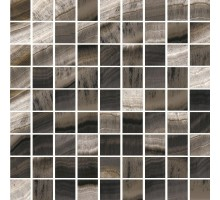 ARRIS черно-коричневая K-1052/LR/m01 мозаика 30*30 KERRANOVA