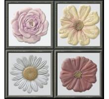 Garden Dec Flor Cold (4 варианта) 15*15 декор HERALGI
