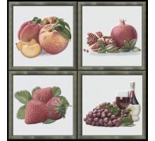 Garden Dec Fruit Cold (4 варианта) 15*15 декор HERALGI