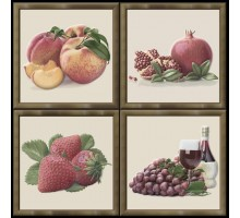 Garden Dec Fruit Warm (4 варианта) 15*15 декор HERALGI
