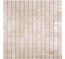Crema Marfil Polished 20*20 мозаика из мрамора 305*305 Starmosaic