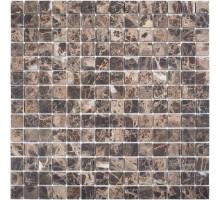Dark Emperador Matt 20*20 мозаика из мрамора 305*305 Starmosaic