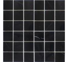 Black Polished 48*48 мозаика из мрамора 305*305 Starmosaic