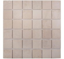 Crema Marfil Matt 48*48 мозаика из мрамора 305*305 Starmosaic