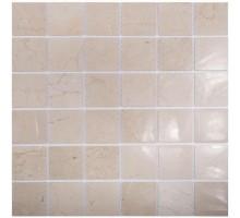 Crema Marfil Polished 48*48 мозаика из мрамора 305*305 Starmosaic