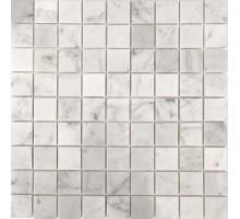 Мозаика Bianco Carrara Pol. 30x30х7 30,5*30,5 мрамор ORRO