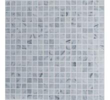 Мозаика Bianco Carrara Pol. 15x15х4 30,5*30,5 мрамор ORRO