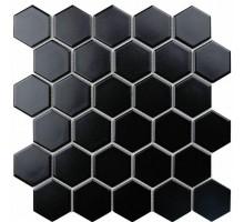 Мозаика Black Gamma 27,2*28,2 керамика ORRO