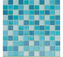 Мозаика Blue Lagoon 29,5*29,5 стекло ORRO