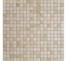 Мозаика Botticino Tum. 15х15х4 30,5*30,5 мрамор ORRO