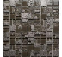 Мозаика Champane 30,5*30,5 стекло+камень ORRO
