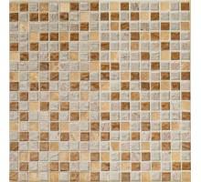 Мозаика Colonial Brown 30*30 стекло+камень ORRO